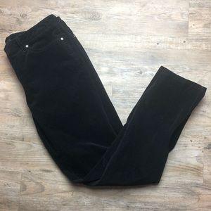 Jessica Simpson skinny black Corduroy pants